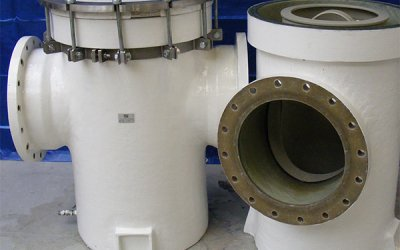 Inlet strainers