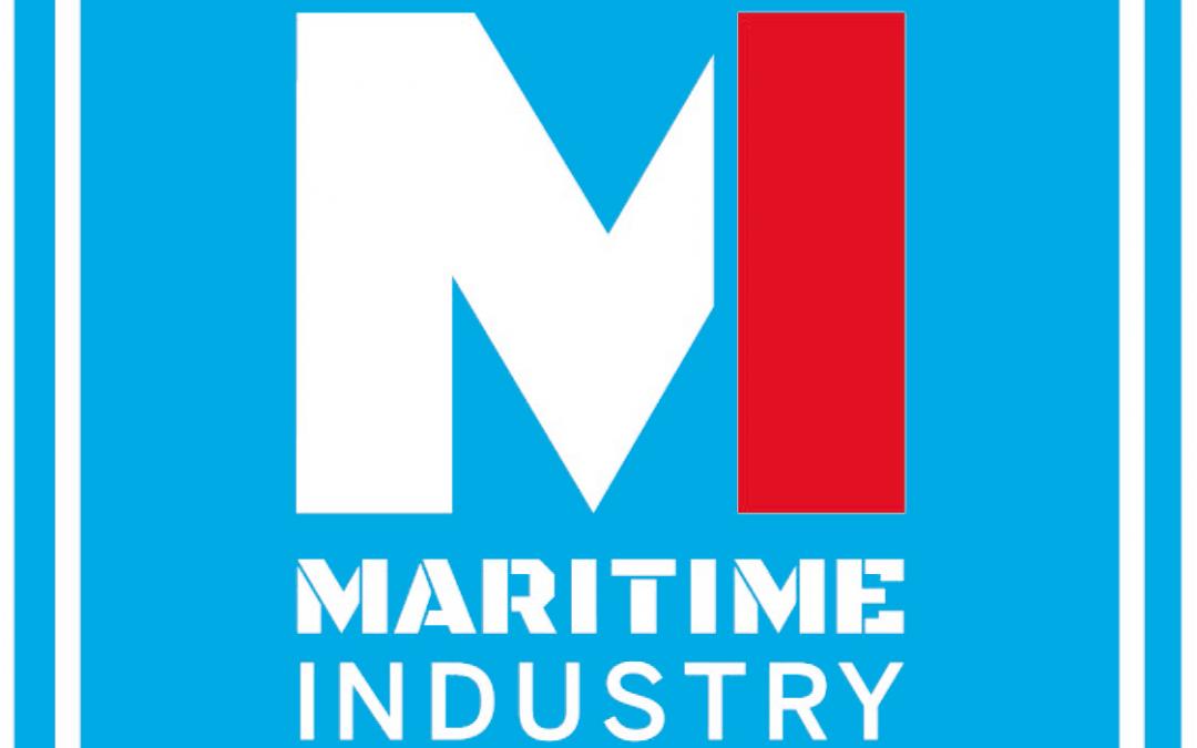 Aanwezig op het Maritime Industry 2018 – 29, 30 & 31 mei 2018