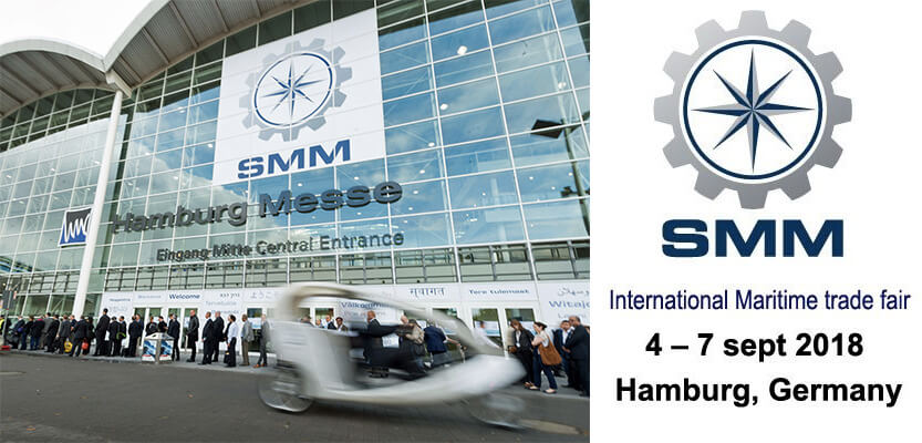 Aanwezig op de SMM Hamburg 2018 – 4 t/m 7 september 2018
