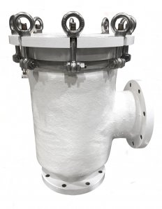 A STC TRADE - Fiberstrain inlet strainers HDPE ships yachts marine
